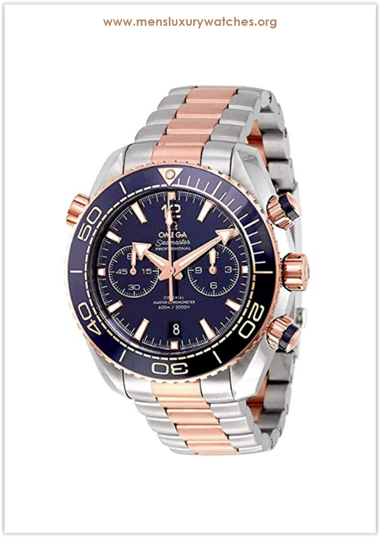 Omega Seamaster Planet Ocean Chronograph Sedna Gold Automatic Men's Watch Price