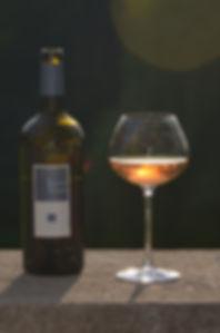 septem triones bouteille vin rosé