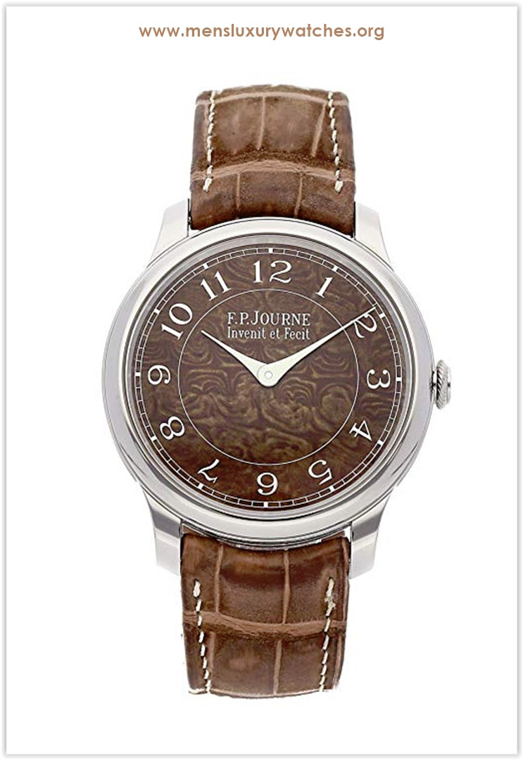 F.P. Journe Chronometre Mechanical (Hand-Winding) Brown Dial Men's Watch Chronometer Price