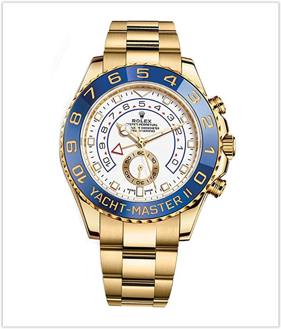 Rolex Yacht-Master Ii Yellow Gold Watch