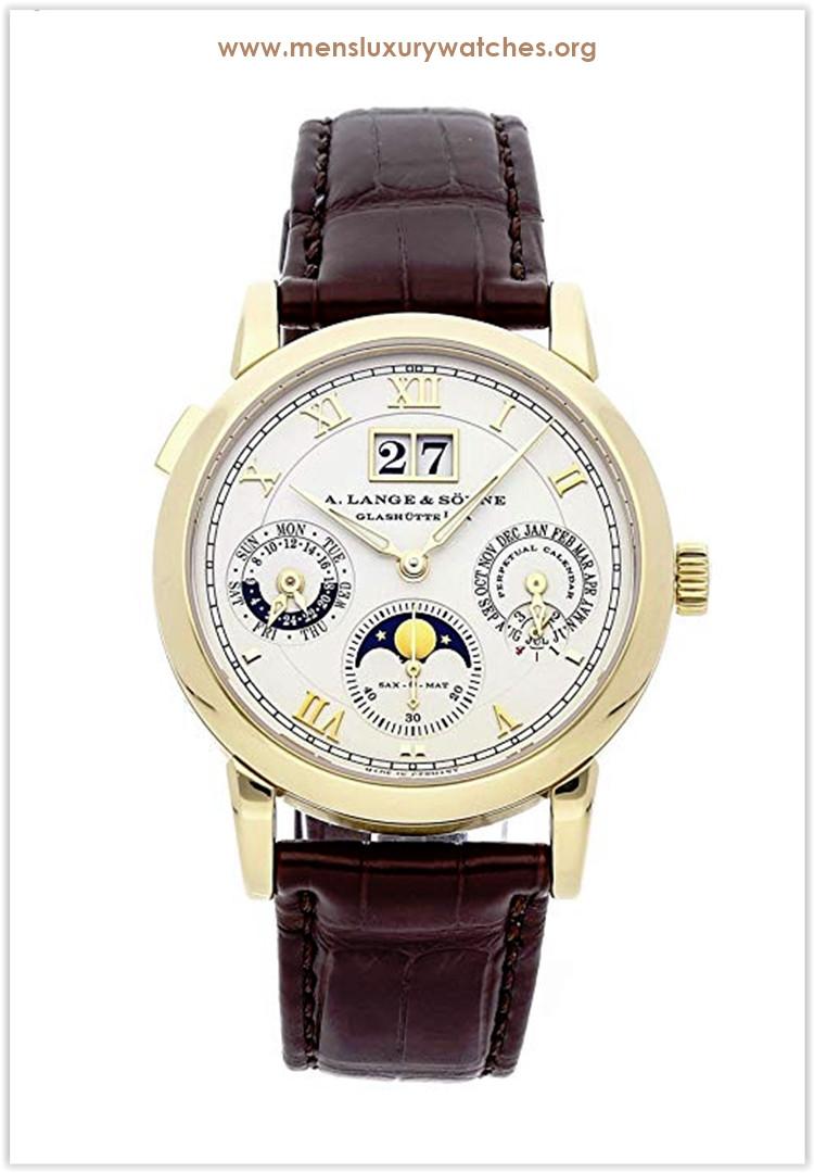 A. Lange & Sohne Langematik Perpetual Mechanical (Automatic) Ivory Dial Men's Watch Price