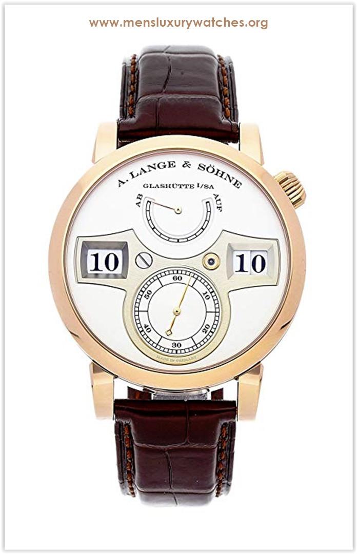 A. Lange & Sohne Zeitwerk Mechanical (Hand-Winding) Silver Dial Men's Watch Price