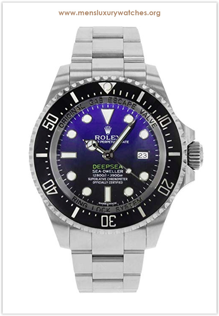 Rolex Deepsea D-Blue Dial Men's Watch Price