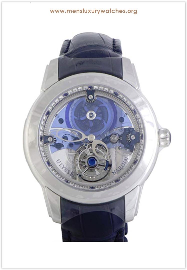 Ulysse Nardin Royal Blue Mystery Tourbillon Men's Watch the best price