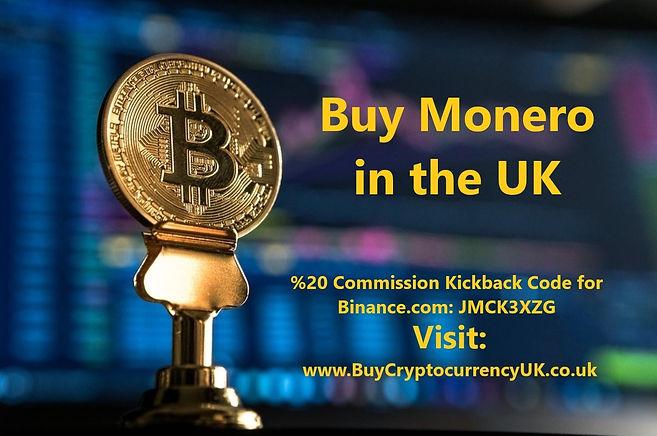 Buy Monero in the UK