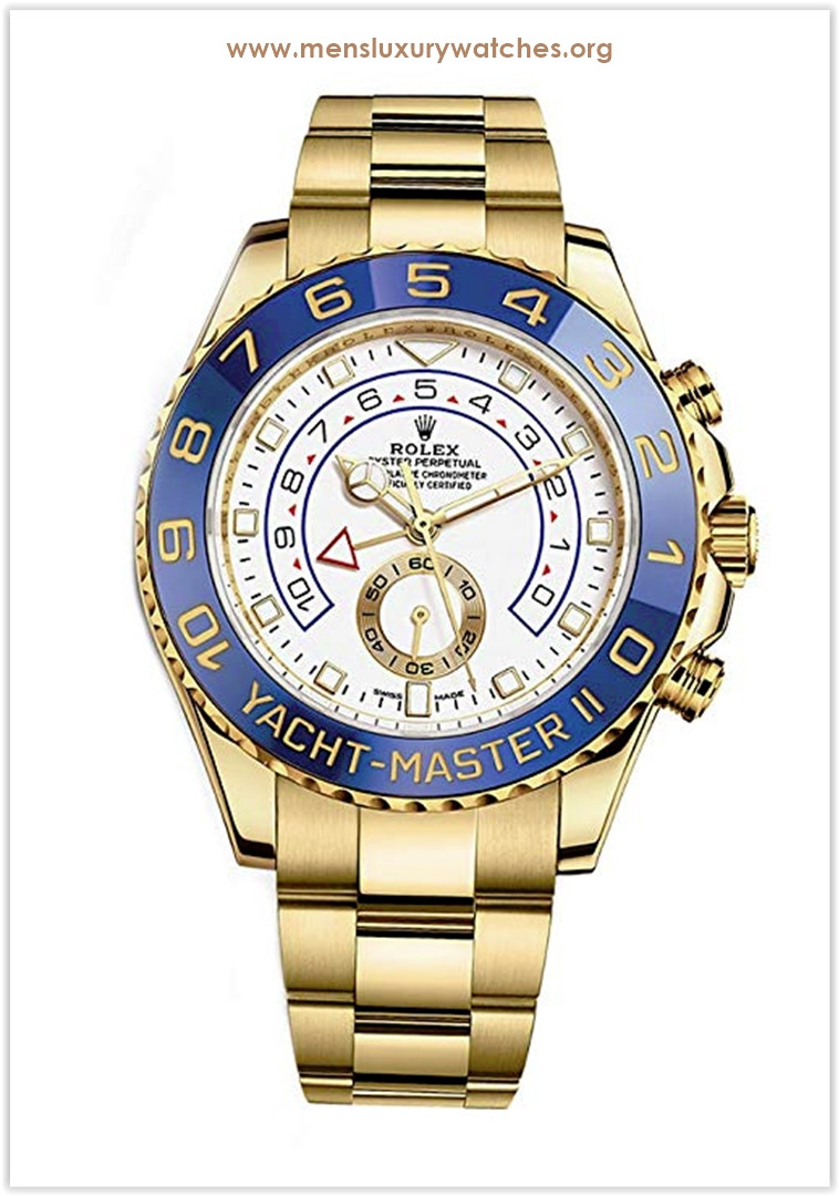 Rolex Yacht-Master Ii Yellow Gold Men's Watch Price