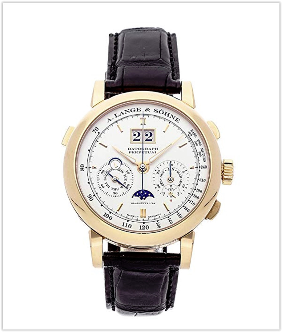 A. Lange & Sohne Saxonia Mechanical Silver Dial Men's Watch
