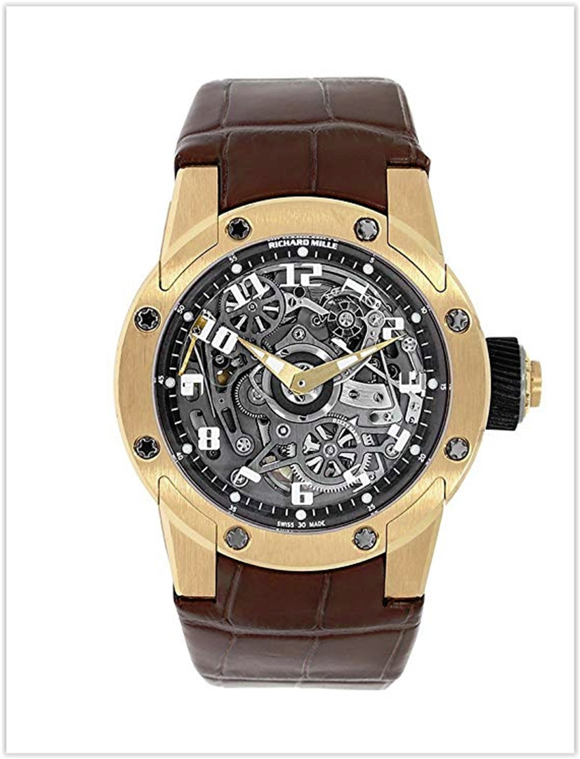 Richard Mille Dizzy Hands Rose Gold  Men's Watch RM63-01 Price