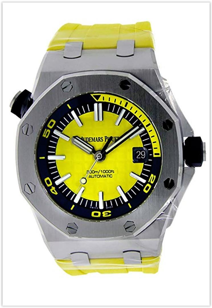 Audemars Piguet Offshore Diver 42mm Novelty Edition Yellow Men's Watch price