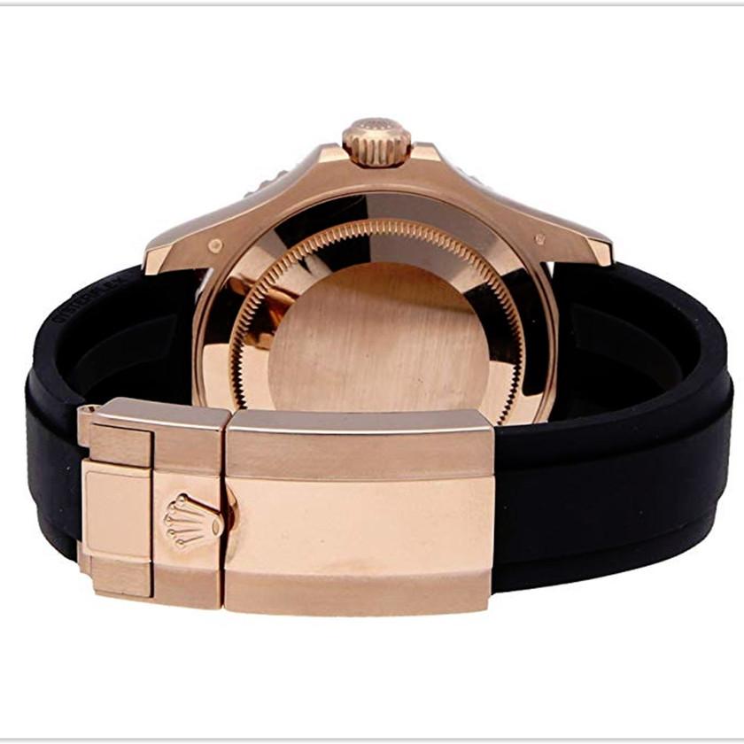 Rolex Yacht-Master Mechanical Black Dial Men's Watch