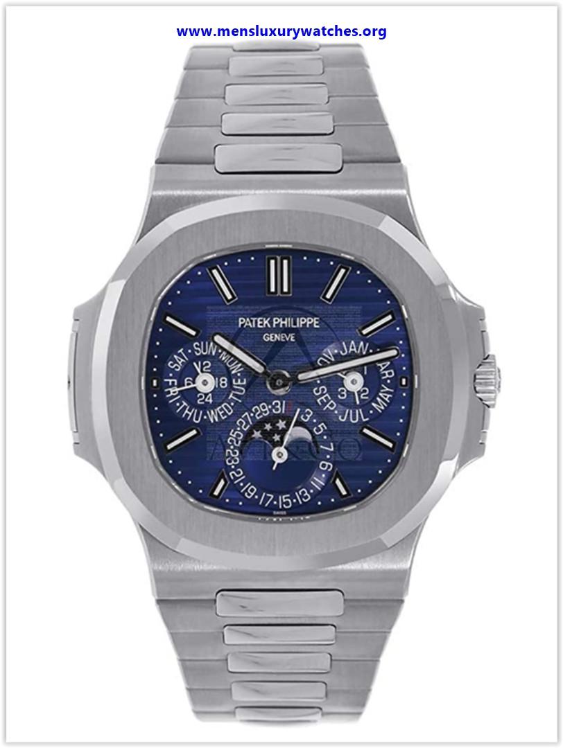 Best buy Patek Philippe Nautilus 40MM Perpetual Calendar White Gold Men's Watch
