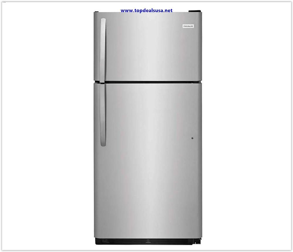 Frigidaire FFTR1821TS 30 Inch Freestanding Top Freezer Refrigerator