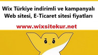 Wix Türkiye indirimli ve kampanyalı Web sitesi, E-Ticaret sitesi fiyatları