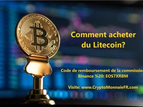 Comment acheter du Litecoin LTC?
