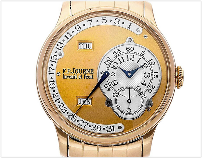 F.P. Journe Octa Mechanical Gold Dial Men's Watch Calendrier