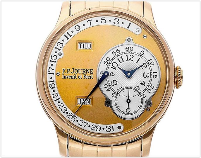 F.P. Journe Octa MechanicalGold Dial Men's Watch Calendrier