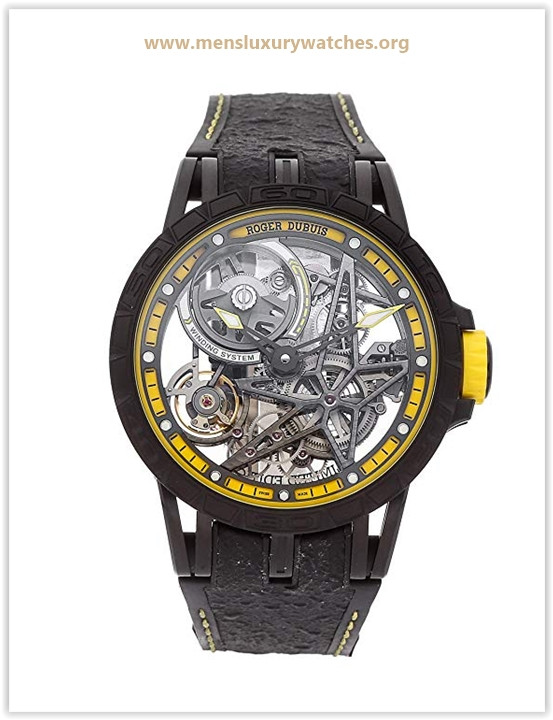 Roger Dubuis Excalibur Mechanical (Automatic) Skeletonized Dial Men's Watch Price May 2019