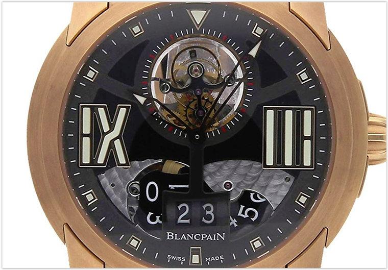 Blancpain L-Evolution Mechanical Black Dial Men's Watch