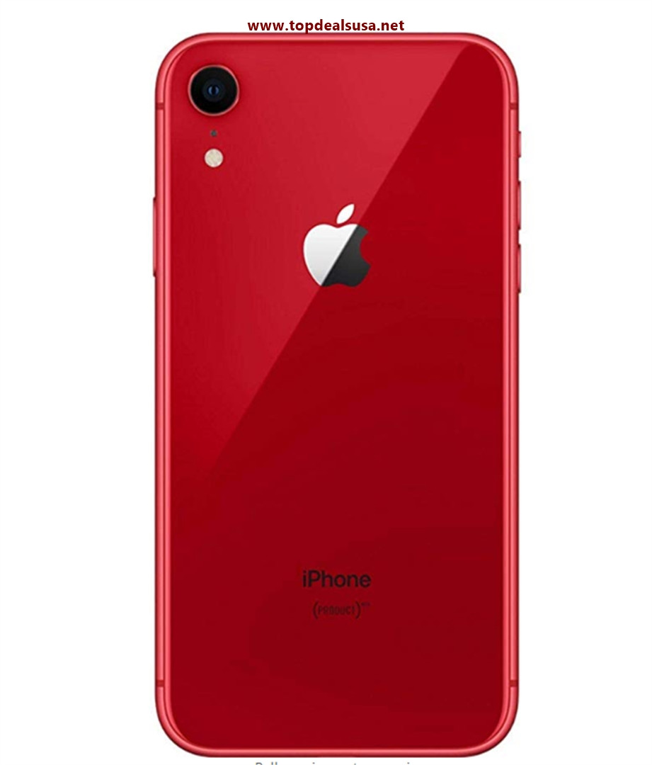 Apple iPhone XR, Fully Unlocked, 64GB - Red best buy