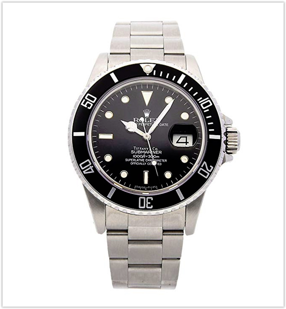 Rolex Submariner Mechanical (Automatic) Black Dial Men's Watch best price