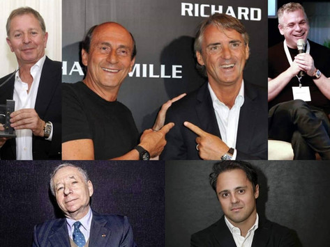 The Most Powerful 23 Men who prefer Richard Mille Men's Watches