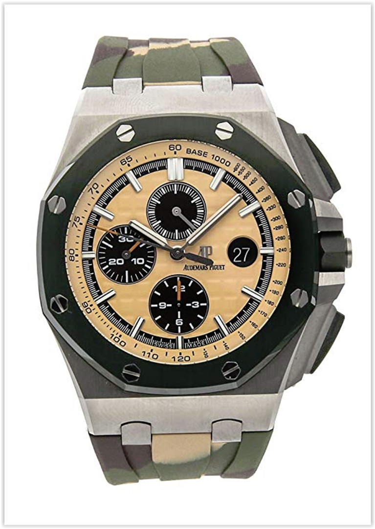 Audemars Piguet Royal Oak Offshore Mechanical (Automatic) Beige Dial Men's Watch price
