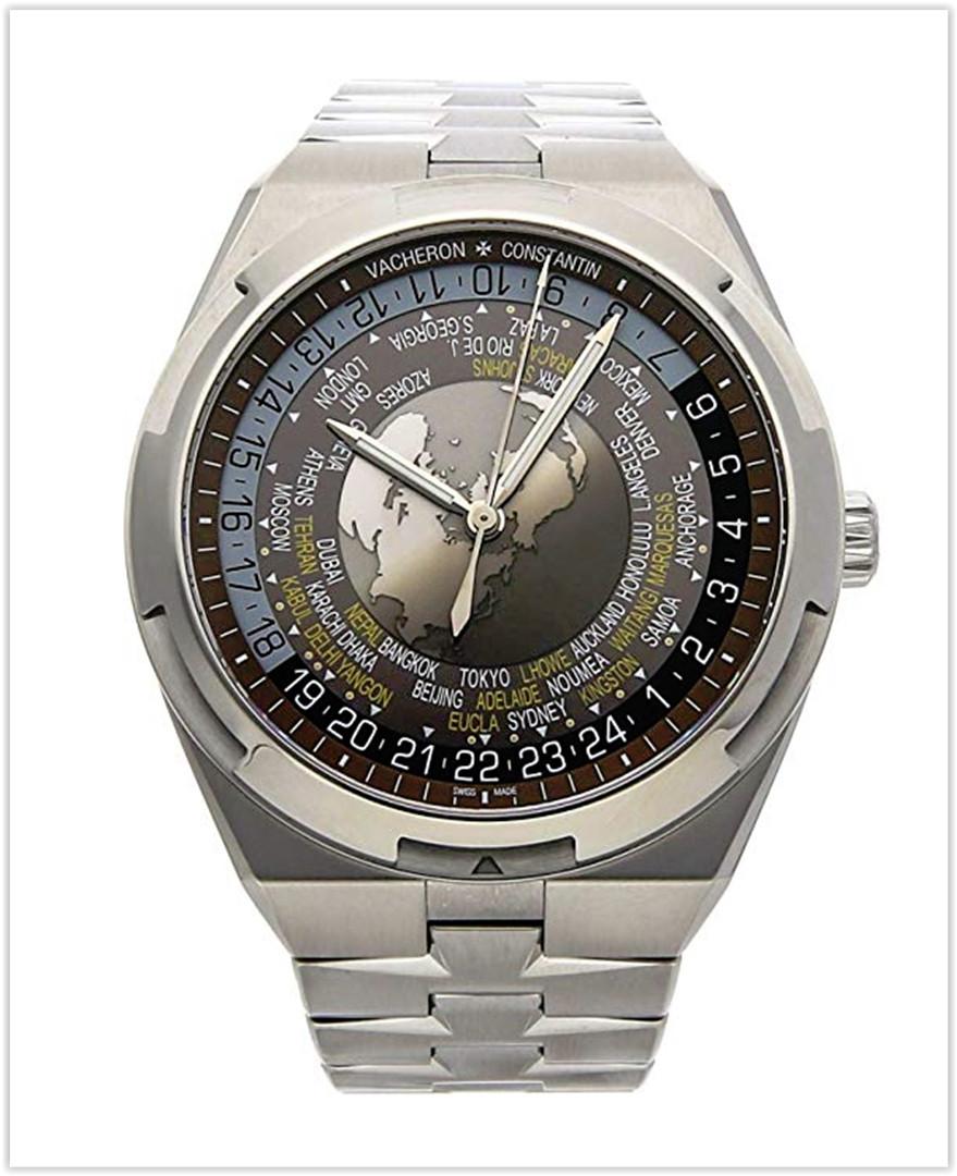 Vacheron Constantin Overseas Mechanical (Automatic) Brown Dial Men's Watch best price