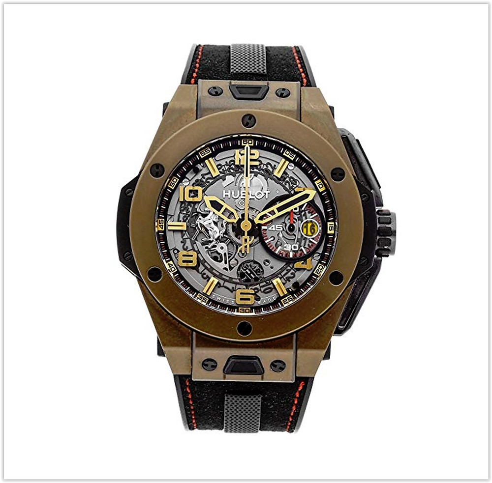 Hublot Ferrari Big Bang Mechanical Silver Dial Mens Watch buy online