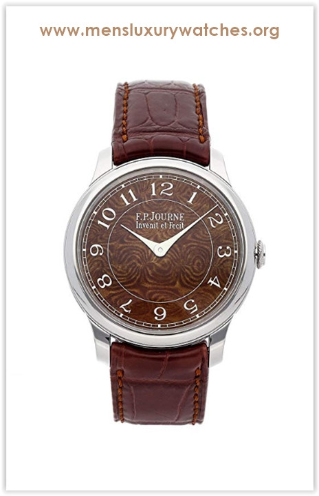 F.P. Journe Chronometre Mechanical (Hand-Winding) Brown Dial Mens Watch Chronometer (Certified Pre-Owned) The best price