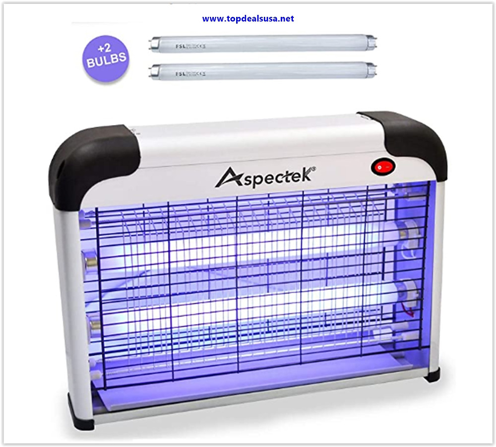 Best Buy Aspectek Upgraded 20W Electronic Bug Zapper, Insect Killer - Mosquito