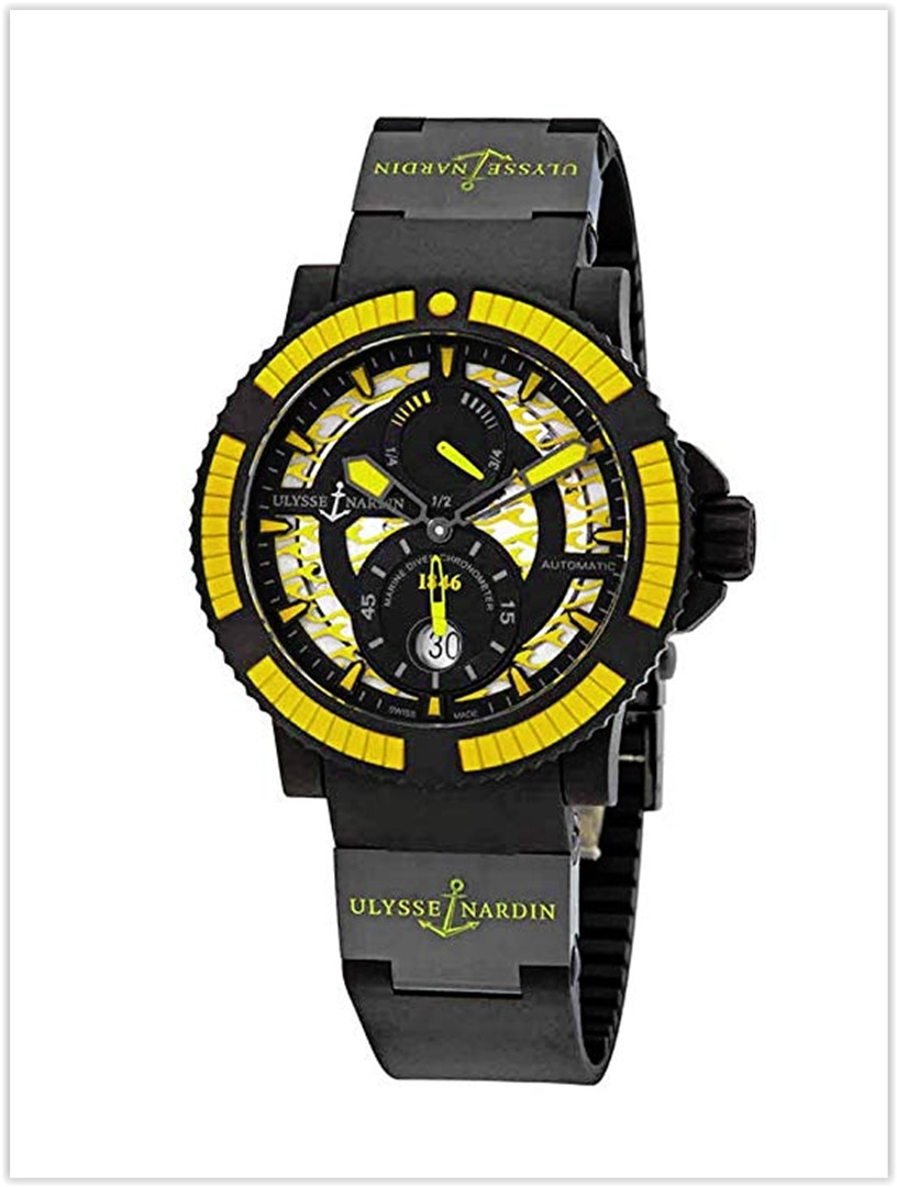 Ulysse Nardin Diver Black Sea Automatic Black Dial Men's Watch Price