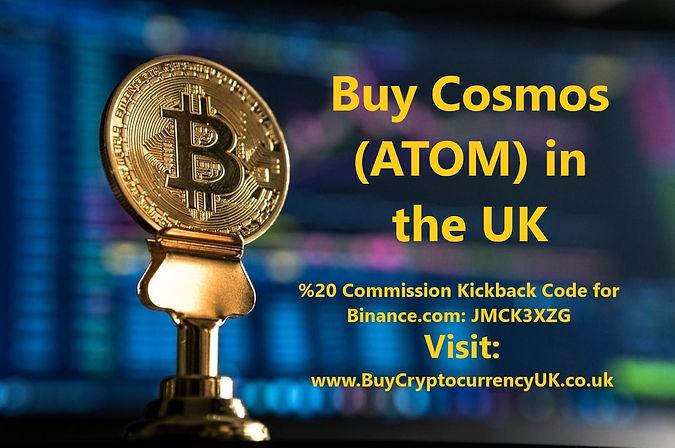 Buy Cosmos (ATOM) in the UK