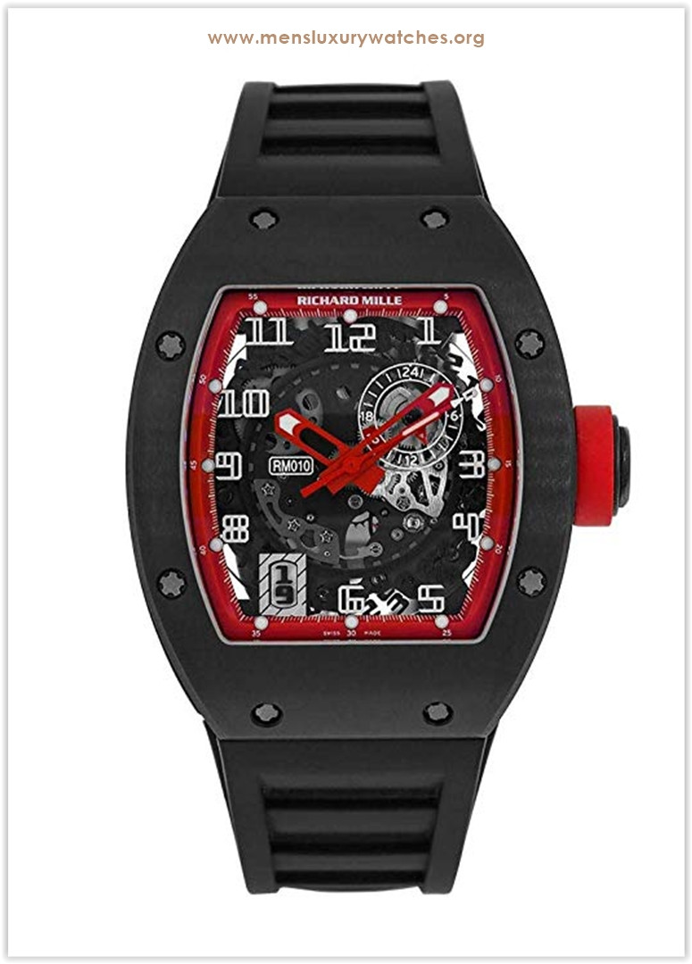 Richard Mille Titanium Automatic Limited Edition Watch RM010