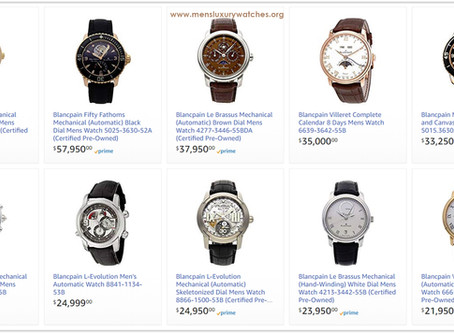 Luxury Lifestyle Advice: Blancpain Men's Watches Price List