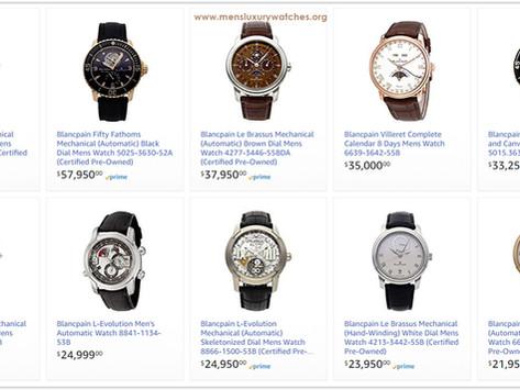 Luxury Lifestyle Advice: Blancpain Men's Watches Price List