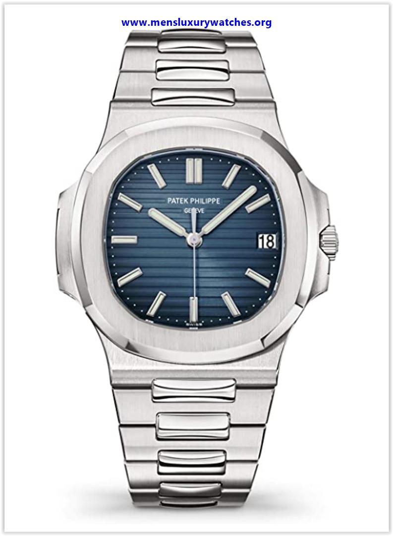Best buy Patek Philippe Nautilus Automatic Black-Blue Dial Luxury Men's Watch
