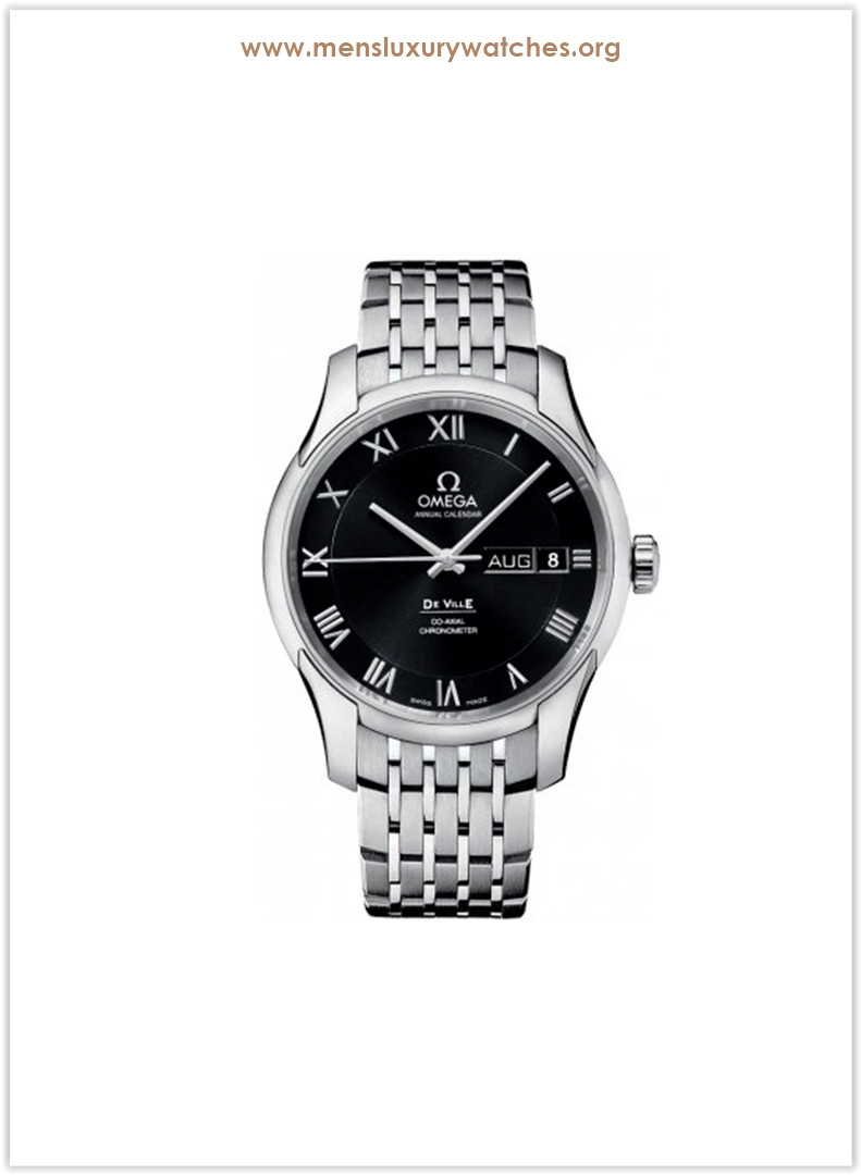 Omega Black Dial Stainless Steel Automatic Men's Watch Price