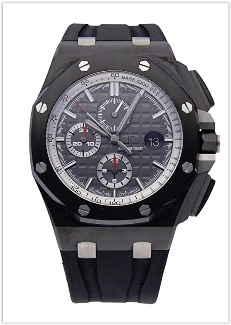 Audemars Piguet Royal Oak Offshore Mechanical (Automatic) GreyCharcoal Dial Men's Watch Price