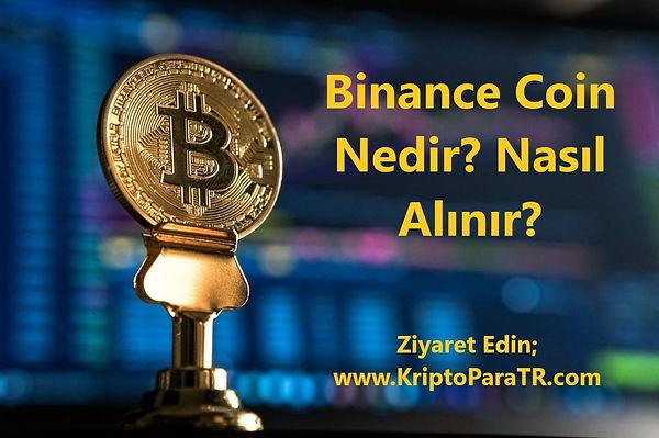 Binance Coin Nedir? Nasıl Alınır?