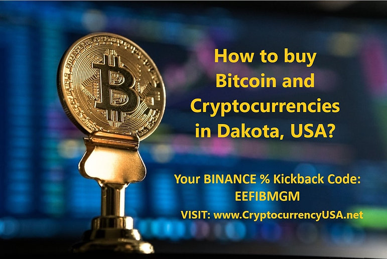 How to buy Bitcoin and Cryptocurrencies in Dakota, USA?