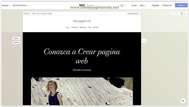 Hacer un sitio web usando Wix ADI