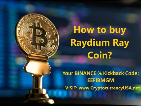 How to buy Raydium Ray Coin?