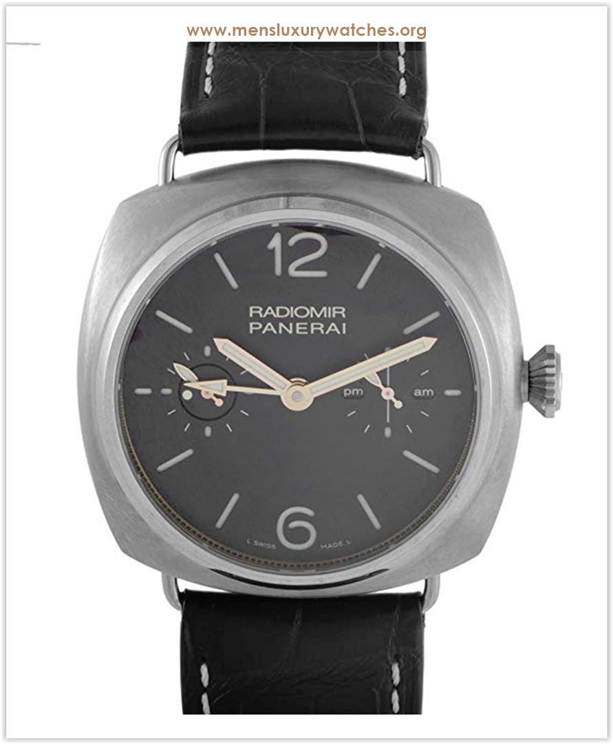 Officine Panerai Radiomir Tourbillon GMT Titanio Manually Wound Men's Watch Price