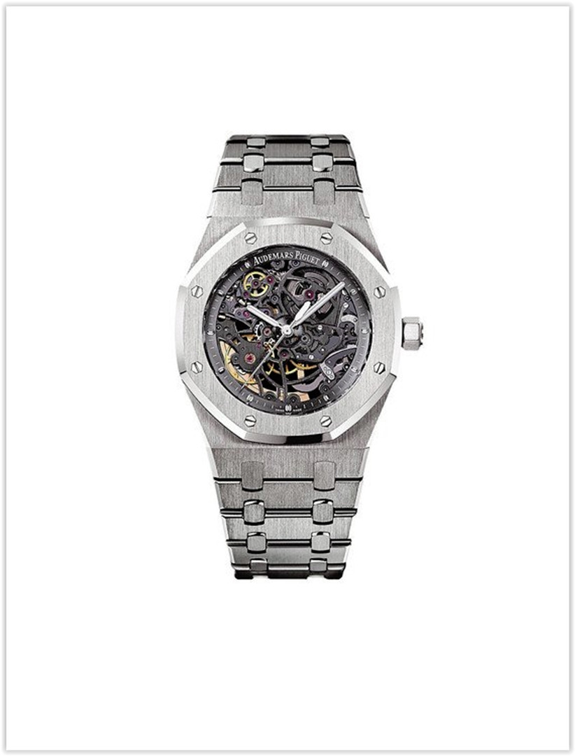 Audemars Piguet AP Royal Oak 39 Openworked Selfwinding Stainless Steel Men's Watch price