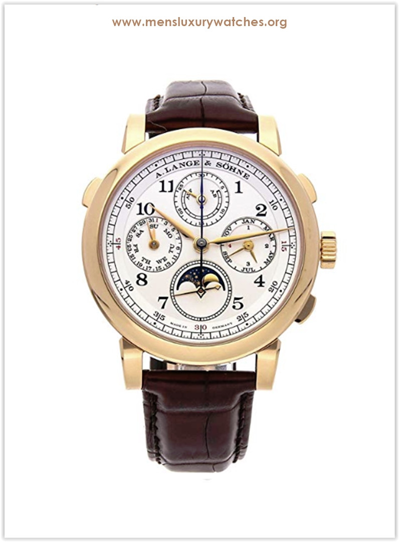 A. Lange & Sohne 1815 Mechanical (Hand-Winding) Yellow Silver Dial Men's Watch Price
