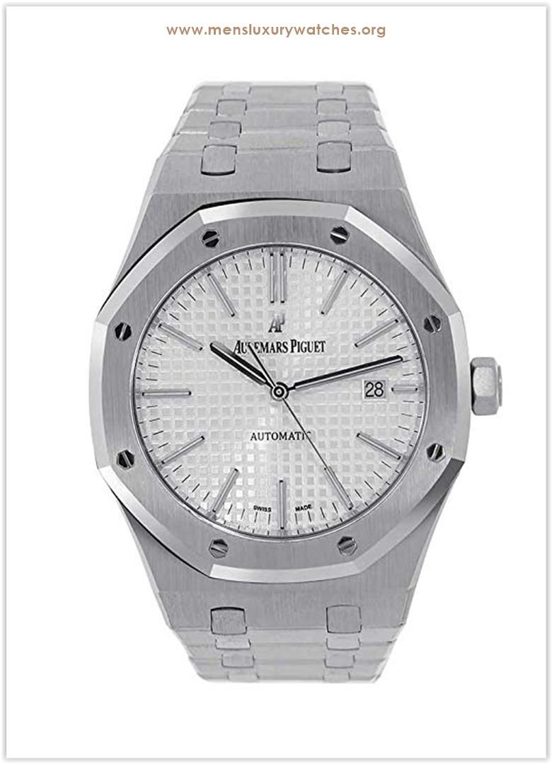 Audemars Piguet Royal Oak 41mm Steel White Dial Men's Watch the best price