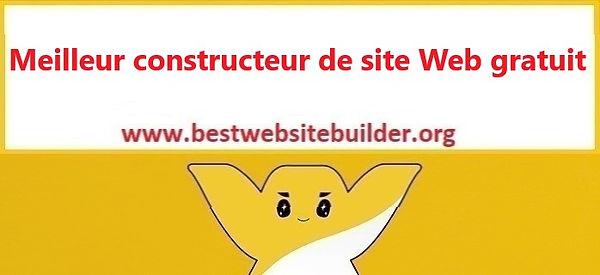 Meilleur constructeur de site Web gratui