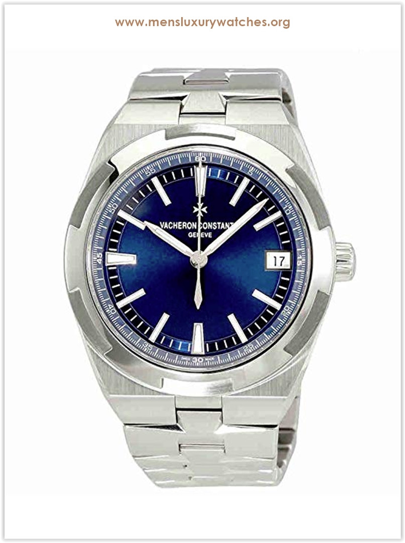 Vacheron Constantin Overseas Blue Automatic Men's Watch Price
