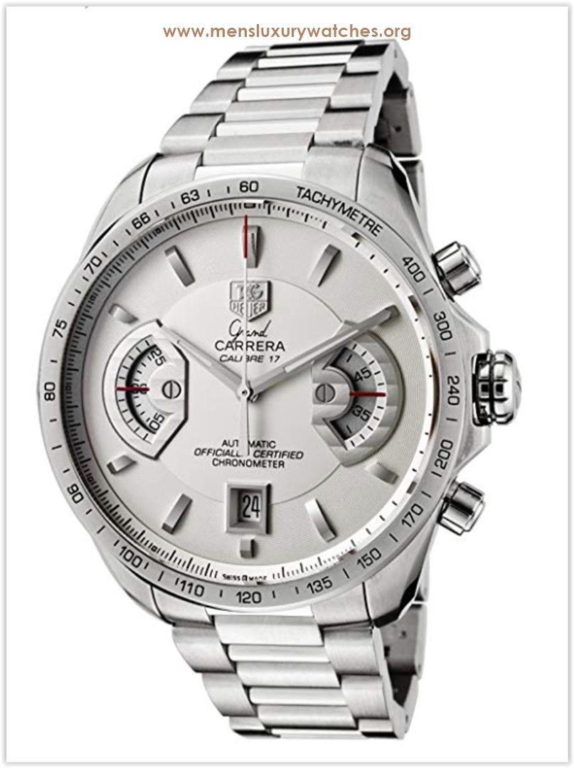 Men's Carrera Stainless Steel Chronograph Men's Watch Price