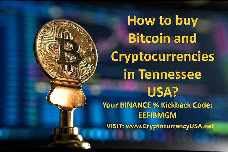 How to buy Bitcoin and cryptocurrencies in Tennessee, USA?